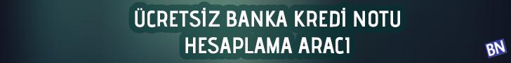 banka kredi notu, kredi notu sorgulama, kredi notu öğrenme