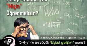 hangi yabancı dili niçin ogrenmelisiniz