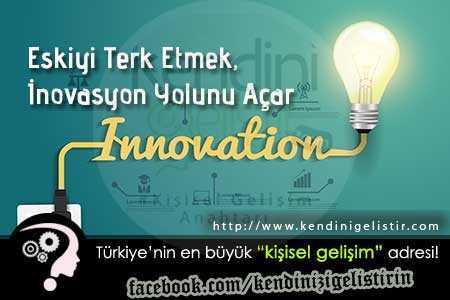 inovasyonun yolu nasıl açılır