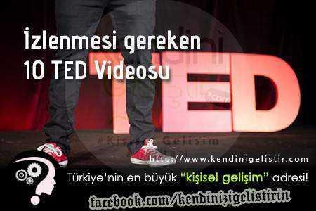 izlenmesi gereken 10 ted videosu