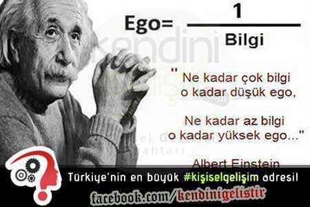 ne kadar az bilgi o kadar az ego