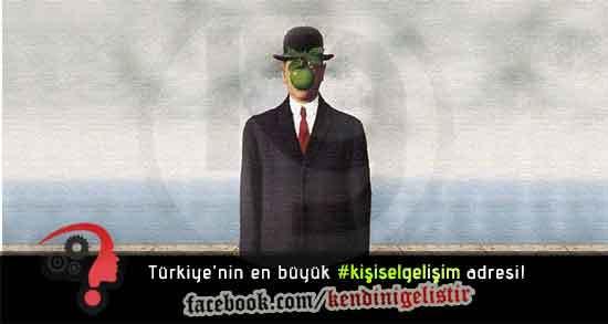 Rene Magritte - İnsanın Oğlu tablosu